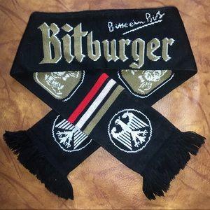 🍺 German Bitburger bier scarf 🍻